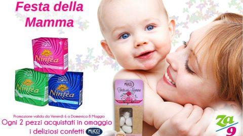 """Speciale """"Festa della Mamma"""" – Assorbenti Ninfea"""