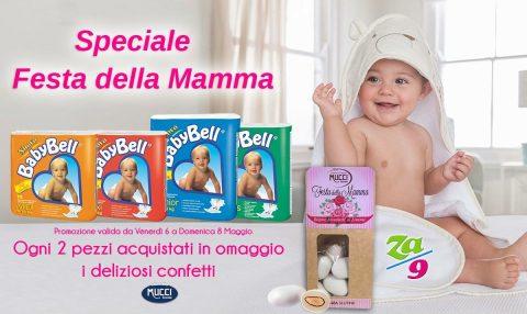 """Speciale """"Festa della Mamma"""" – Pannolini BabyBell"""
